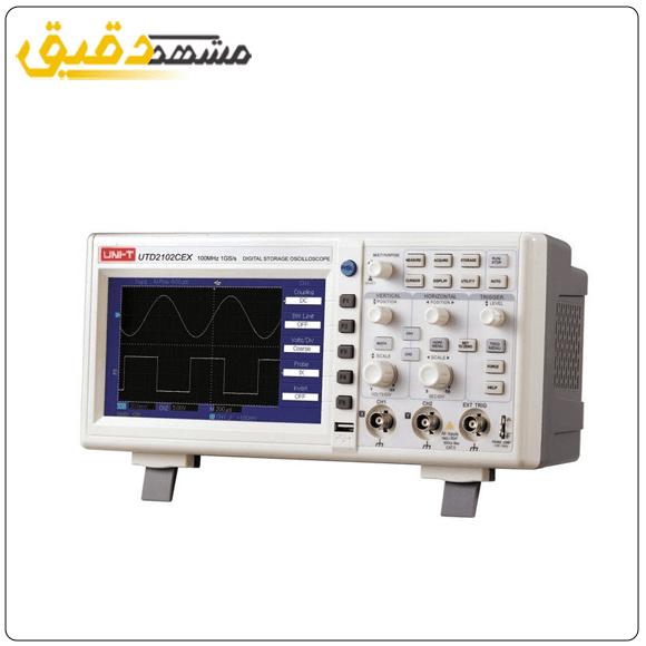 خرید انواع اسیلوسکوپ مدل UTD2102CEX