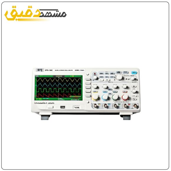 خرید انواع اسیلوسکوپ های دیجیتال ۳۰۰MHZ مدل GPS-1304C