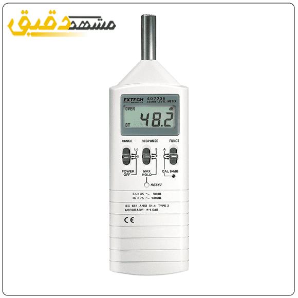 خرید صوت سنج دیجیتال EXTECH sound-level-meterمدل ۴۰۷۷۳۶