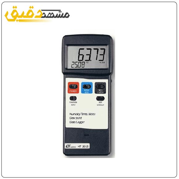 دستگاه اندازه گیری میزان درجه حرارت و رطوبت لوترون LUTRON HT-3015