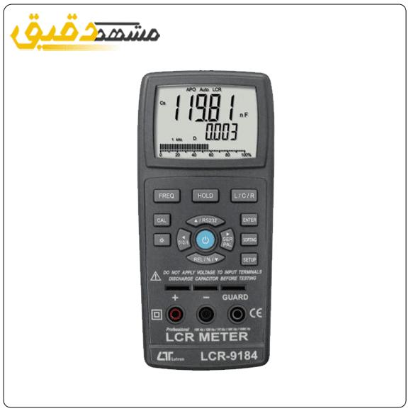 دستگاه ظرفیت خازنی ، LCR متر LUTRON LCR-9183