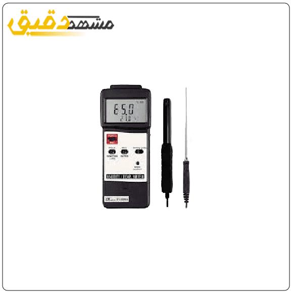 دماسنج و رطوبت سنج همراه با ترموکوپل لوترون LUTRON HT-3006A