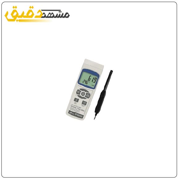 دیتالاگرترمومتر ترموکوپل دار و رطوبت سنج محیط لوترون LUTRON HT-3007SD
