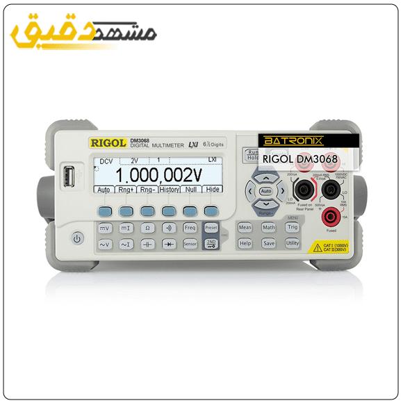 عرضه کننده اسیلوسکوپ دیجیتال مدل DM3068