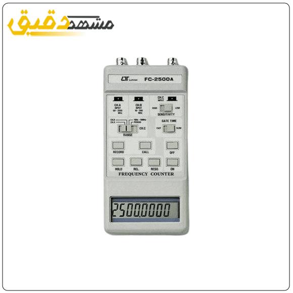 فرکانس متر LUTRON FC-2500A